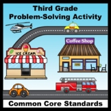 3rd Grade Math Common Core Word Problems - A Fun Problem-S