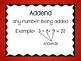 3rd Grade Math Common Core Word Wall Cards