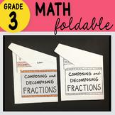 Doodle Notes - 3rd Grade Math Composing and Decomposing Fr