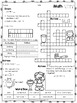 3rd Grade Math Crossword Puzzles - February