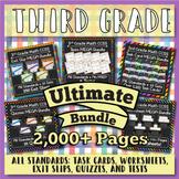 3rd Grade Math Curriculum Bundle: 3rd Grade Math Review, Y