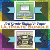 3rd Grade Math Curriculum Bundle ⭐ Digital and Paper ⭐ Google and PDF Formats