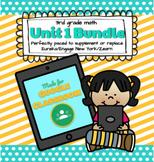 3rd Grade Math: DIGITAL Unit 1 - Eureka/EngageNY/Zearn Sup