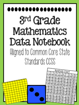 3rd Grade Math Data Notebook