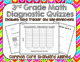 3rd Grade Math Diagnostic Quizzes