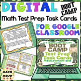 3rd Grade Math Digital Task Cards: 3rd Grade Boot Camp Test Prep (MD Standards)