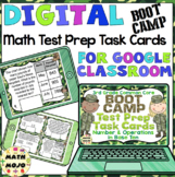 3rd Grade Math Digital Task Cards: 3rd Grade Boot Camp Test Prep (NBT Standards)