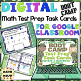 3rd Grade Math Digital Task Cards: 3rd Grade Boot Camp Test Prep (NF Standards)