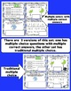 3rd Grade Math Digital Task Cards: 3rd Grade Rock the Test Prep (NF Standards)
