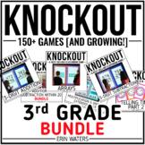 3rd Grade Math + ELA Game Bundle [150+ Knockout Games]