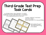 3rd Grade Math EOG Review Task Cards-3OA and 3NBT