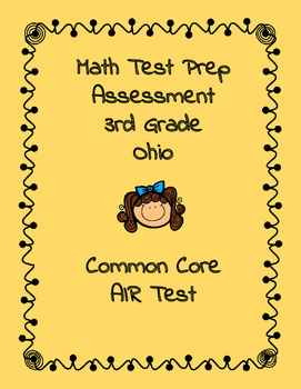 3rd Grade Math Ohio Test Prep Assessment #1