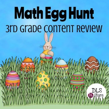 3rd Grade Math Easter Egg Hunt - Test Prep - STAAR