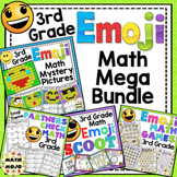 3rd Grade Math Emoji Themed Mega Bundle