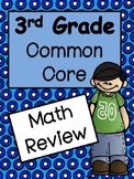 3rd Grade Math End of Year: Common Core Review
