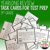 3rd Grade Math End of Year Review Task Cards