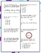 3rd Grade Math End-of-Year Test Prep - NO PREP!  Print and Go!  6 pages, 42 qsts