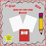 3rd Grade Math End-of-year Review (STAAR/TEKS-aligned)