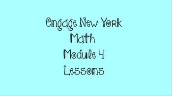 3rd Grade Math ~ Engage New York Module 4 *All Lessons* Promethean Flip chart