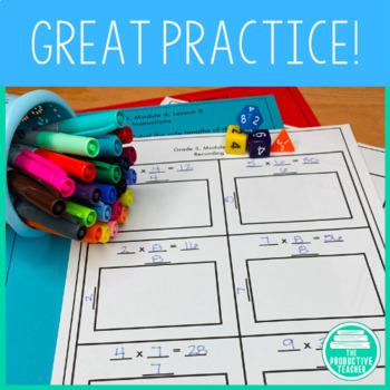3rd Grade Math Engage New York Aligned Activities: Module 4