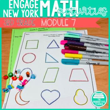 3rd Grade Math Engage New York Aligned Activities: Module 7
