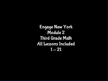 3rd Grade Math ~ Engage New York Module 2 ALL Lessons Prom