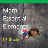 3rd Grade Math Essential Elements for Cognitive Disabilities: Data Collection