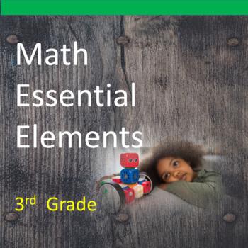 3rd Grade Math Essential Elements for Cognitive Disabiliti
