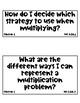 2018-19 NC 3rd Grade Math Essential Questions