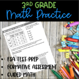 3rd Grade Math Exit Tickets - FSA/Common Core Test Prep