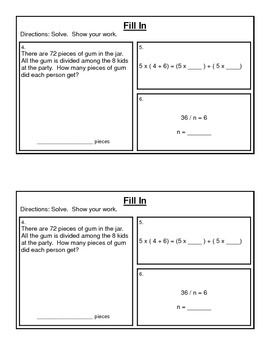 3rd Grade Math Expressions Common Core: Unit 2 Mult. & Division  6, 7, 8 & 10