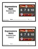 3rd Grade Math Expressions Common Core: Unit 2 Mult. & Division  6, 7, 8 & 10