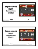 3rd Grade Math Expressions Common Core: Unit 2 Mult. & Div