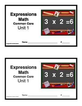 3rd Grade Math Expressions Common Core:Unit 1 Mult.& Div w