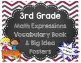 3rd Grade Math Expressions Vocabulary Workbook