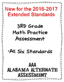 3rd Grade Math Extended Standards Practice Test Alabama Alternate Assessment