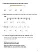 3rd Grade Math FSA and Common Core Style Review Packet
