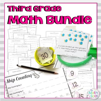 3rd Grade Math Favorites