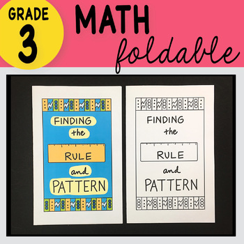 Doodle Notes - 3rd Grade Math Finding the Pattern or Rule