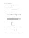 3rd Grade Math Flashbacks