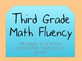 3rd Grade Math Fluency