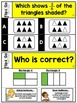 Fractions Task Cards 3rd Grade Math Centers
