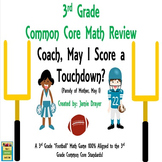 "3rd Grade Math Center ""Skills and Test Prep Review Game"""