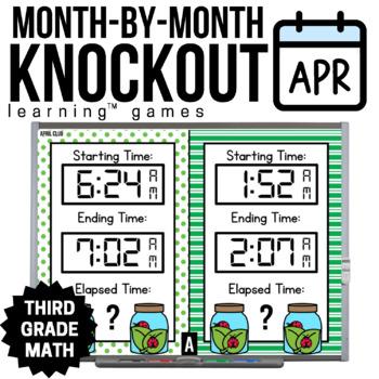 3rd Grade Math Game [April Knockout Club]