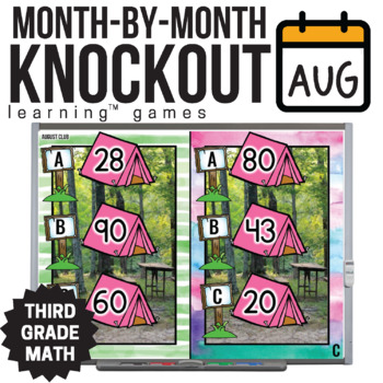 3rd Grade Math Game [August Knockout Club]