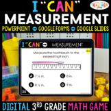 3rd Grade Math Game DIGITAL   Measurement   Distance Learning