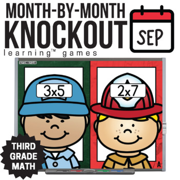 3rd Grade Math Game [September Knockout Club]