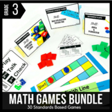 3rd Grade Math Centers | 3rd Grade Math Games BUNDLE - Ready Set Play