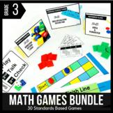 3rd Grade Math Centers | 3rd Grade Math Games BUNDLE - Ready Set Play