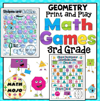 3rd Grade Math Games: Geometry